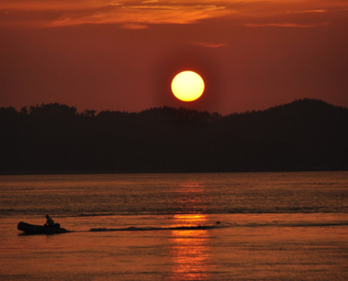 Entebbe Uganda Sunset with Passion for Adventures Safaris