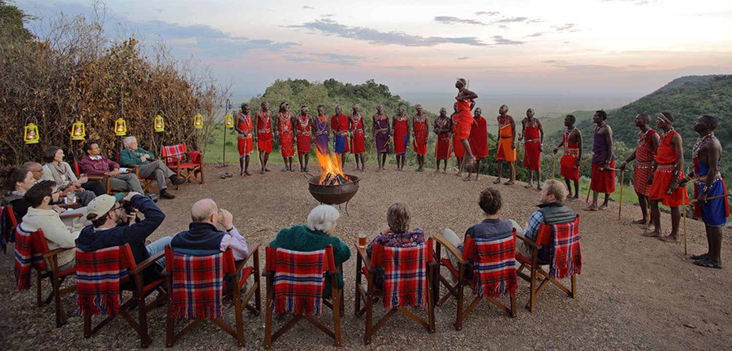 Traditional Masai Dancers in Kenya Safari with Passion for Adventures Safaris