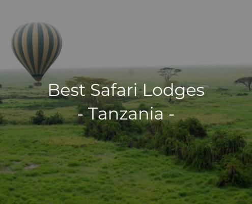 Best Safari Lodges Tanzania