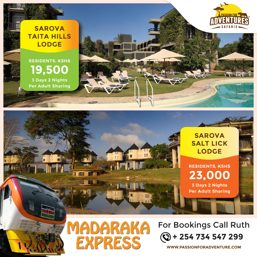 3 Days, 2 Nights Sarova Taita Hills or Sarova Salt Lick Holiday