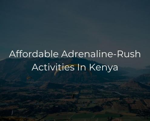 Affordable Adrenaline-Rush