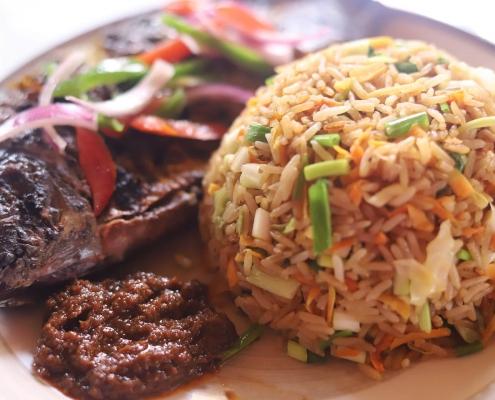 Jollof Rice - African Cuisine